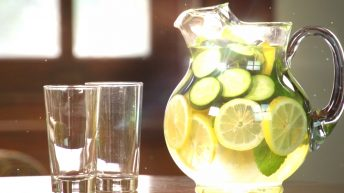A glass pitcher of infused water is like the potential of divine truth to detoxify our spiritual state
