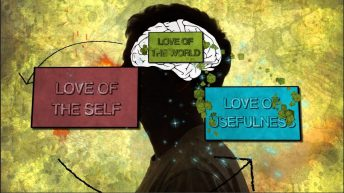 Our deepest loves determine our spiritual nature and we have the power to change them