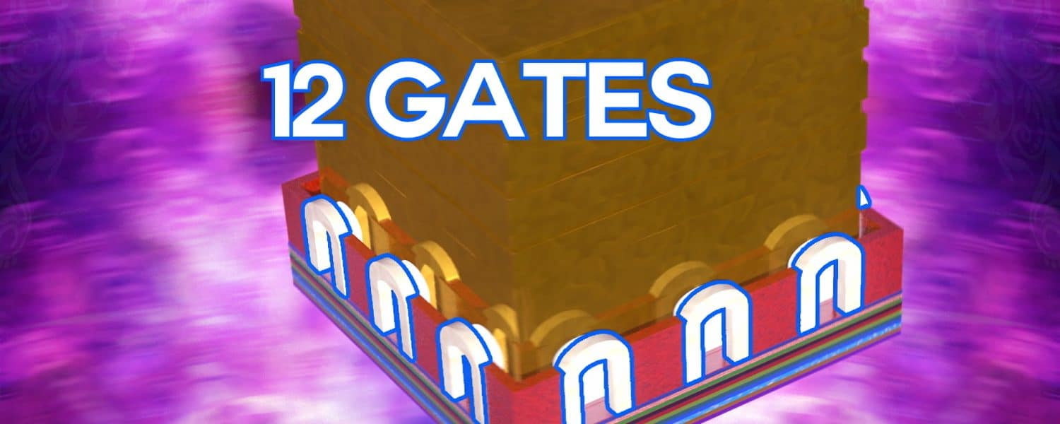 The 12 gates are a symbol of all the ways we can connect to God and heaven
